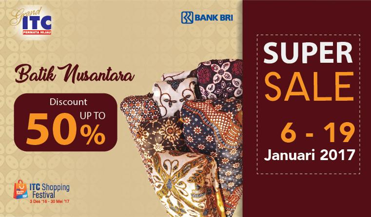 Batik Supersale di ITC Permata Hijau