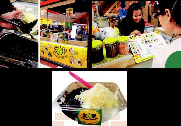 nikmati sensasi es durian medan lezat