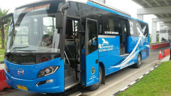 Berangkat Ke Bandara Soekarno Hatta Dengan JAConnexion