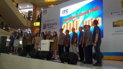 Closing ceremony itc shopping festival 2016