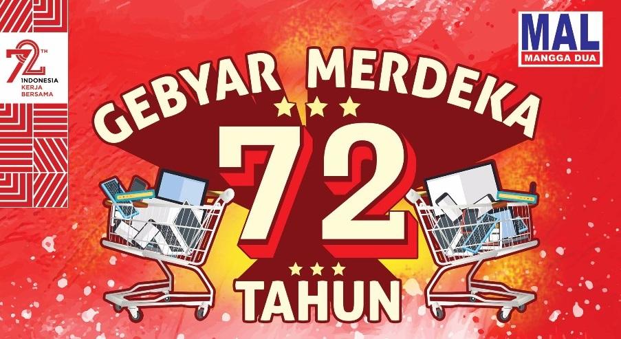 Gebyar Merdeka 72th Shopping Program
