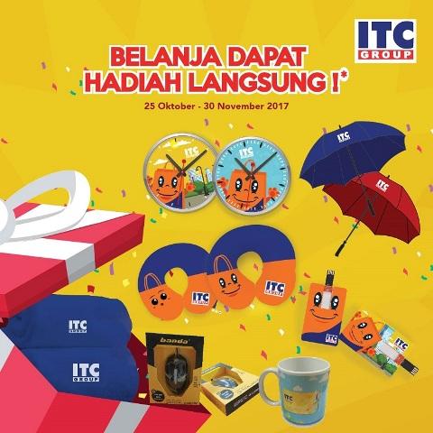 Hadiah Langsung Belanja di ITC