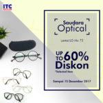 optik diskon 60% di ITC Fatmawati