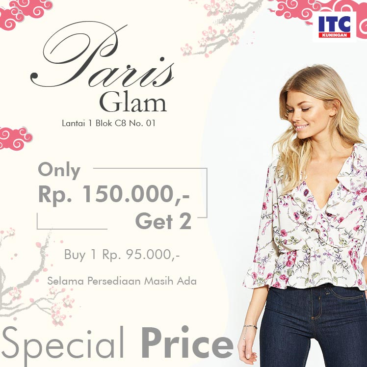 fashion glam itc kuningan 150rb