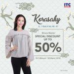 blouse wanita 50% itc depok