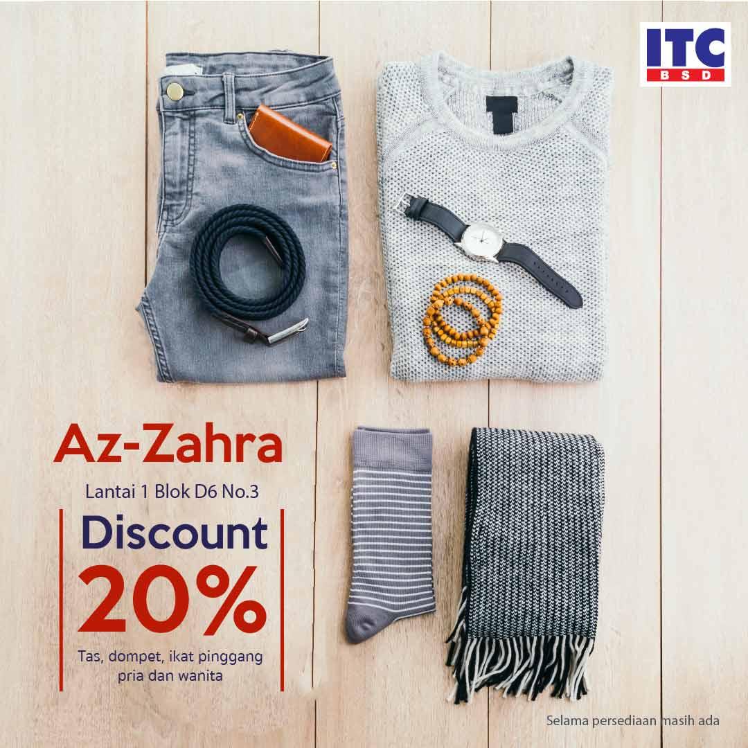 Tas dan dompet diskon 20%