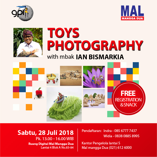 Toys Photography Training Asah Kemampuan Photographymu bersama Ahlinya!