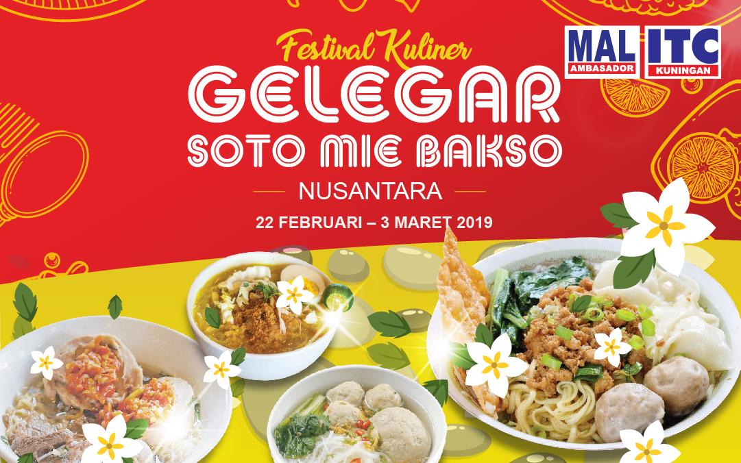 Festival Kuliner Di Itc Kuningan Dan Mal Ambasador Gelegar