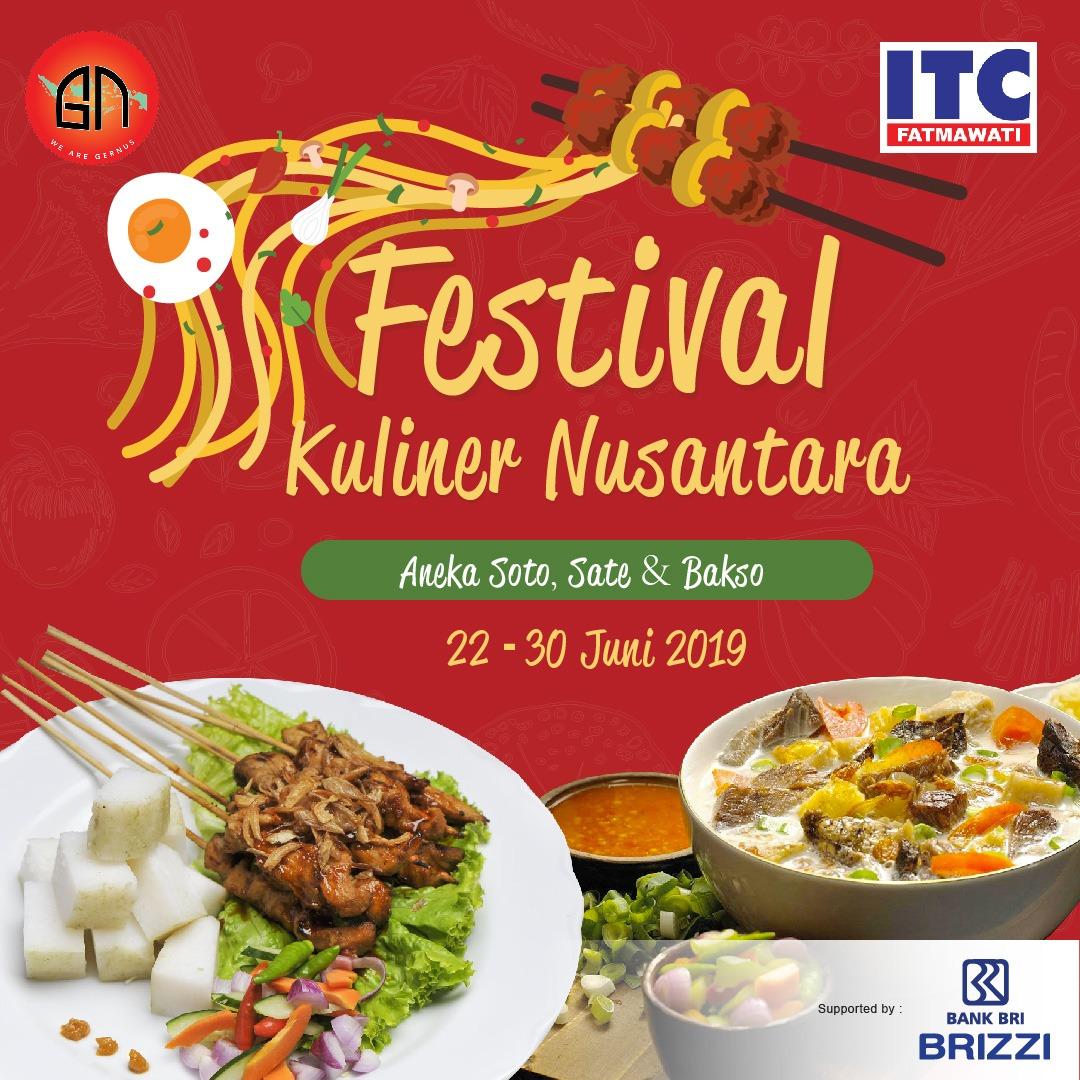Festival Kuliner Nusantara Aneka Soto Sate Dan Bakso Di