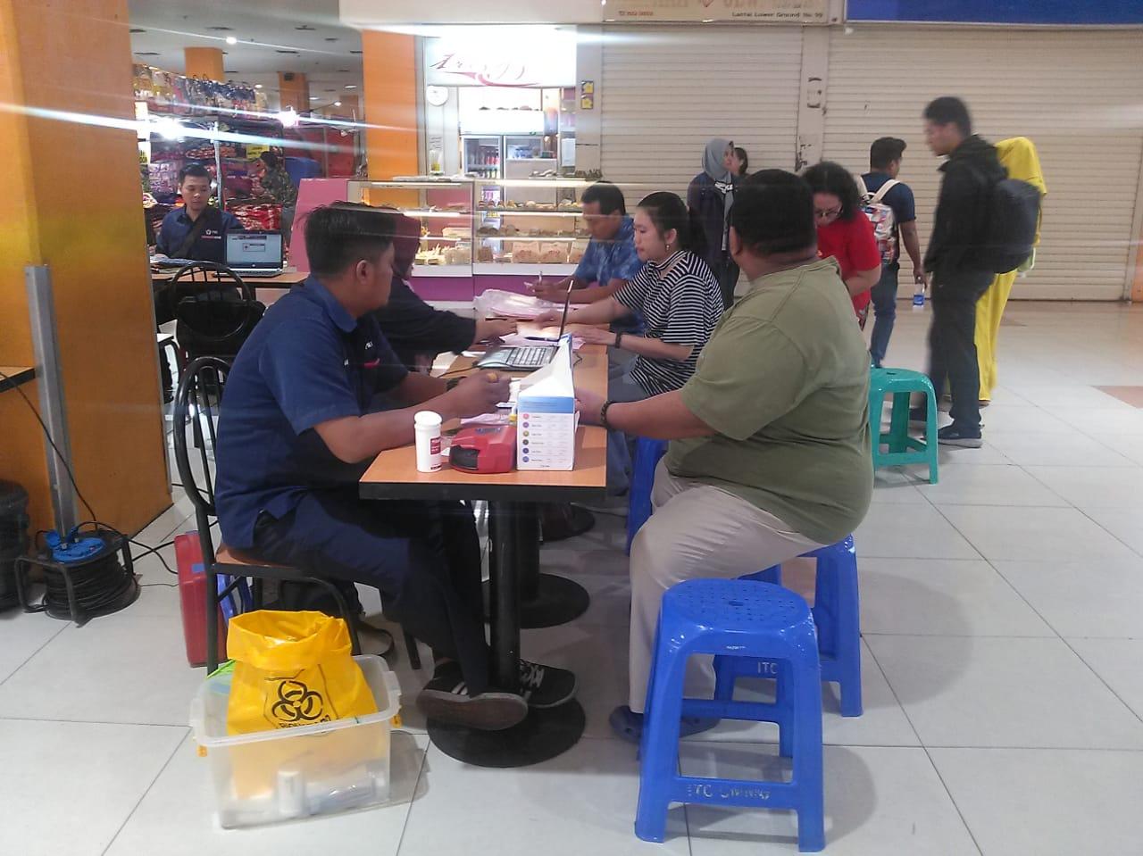 Acara Donor Darah Gratis Jakarta ITC Cempaka Mas 5