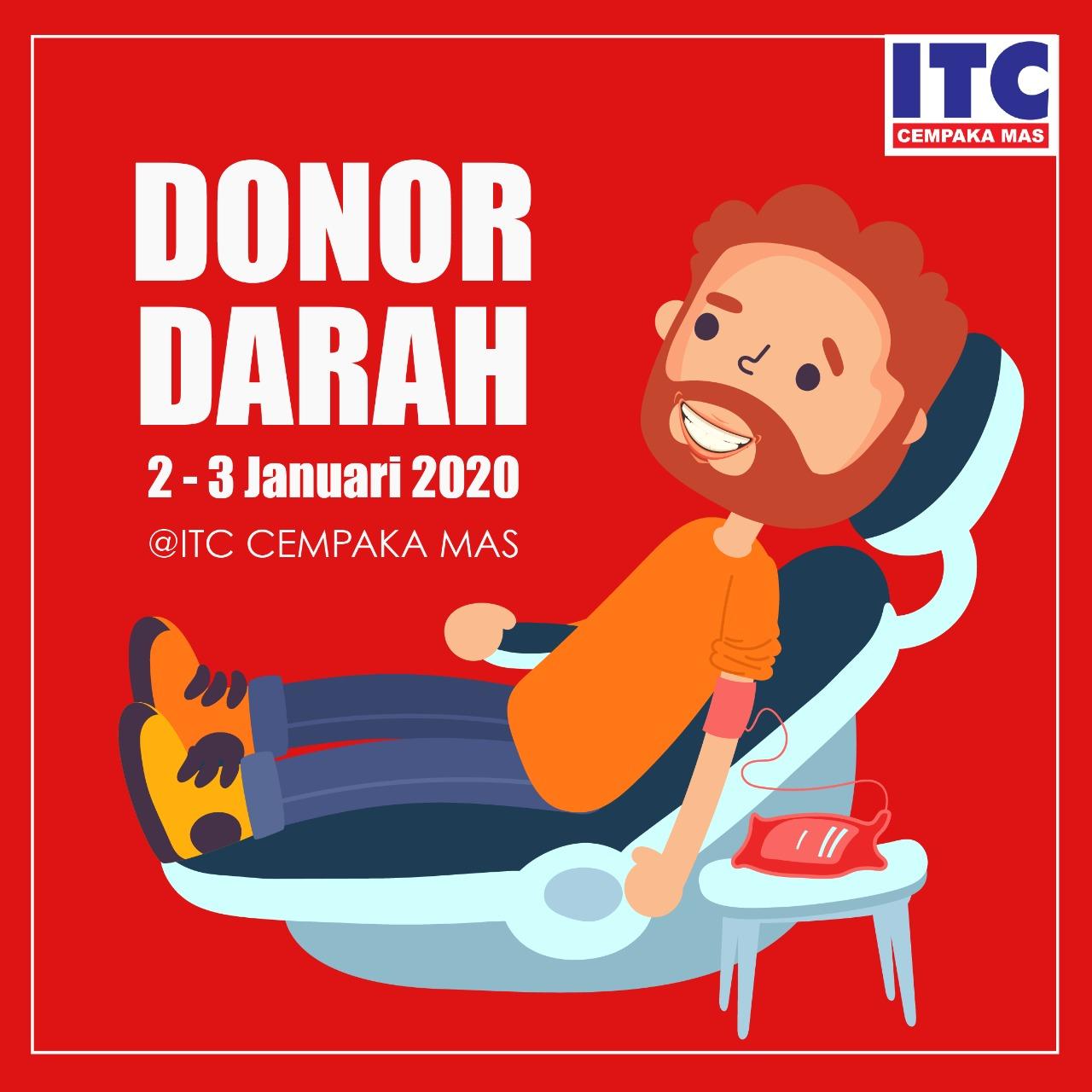 Event Donor Darah Jakarta ITC Cempaka Mas