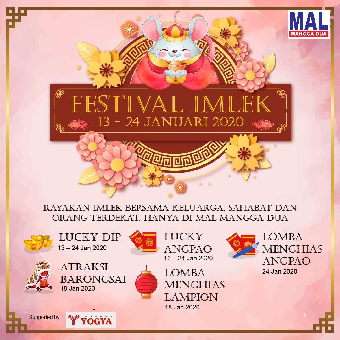 Festival Imlek 2020 Di Mal Mangga Dua
