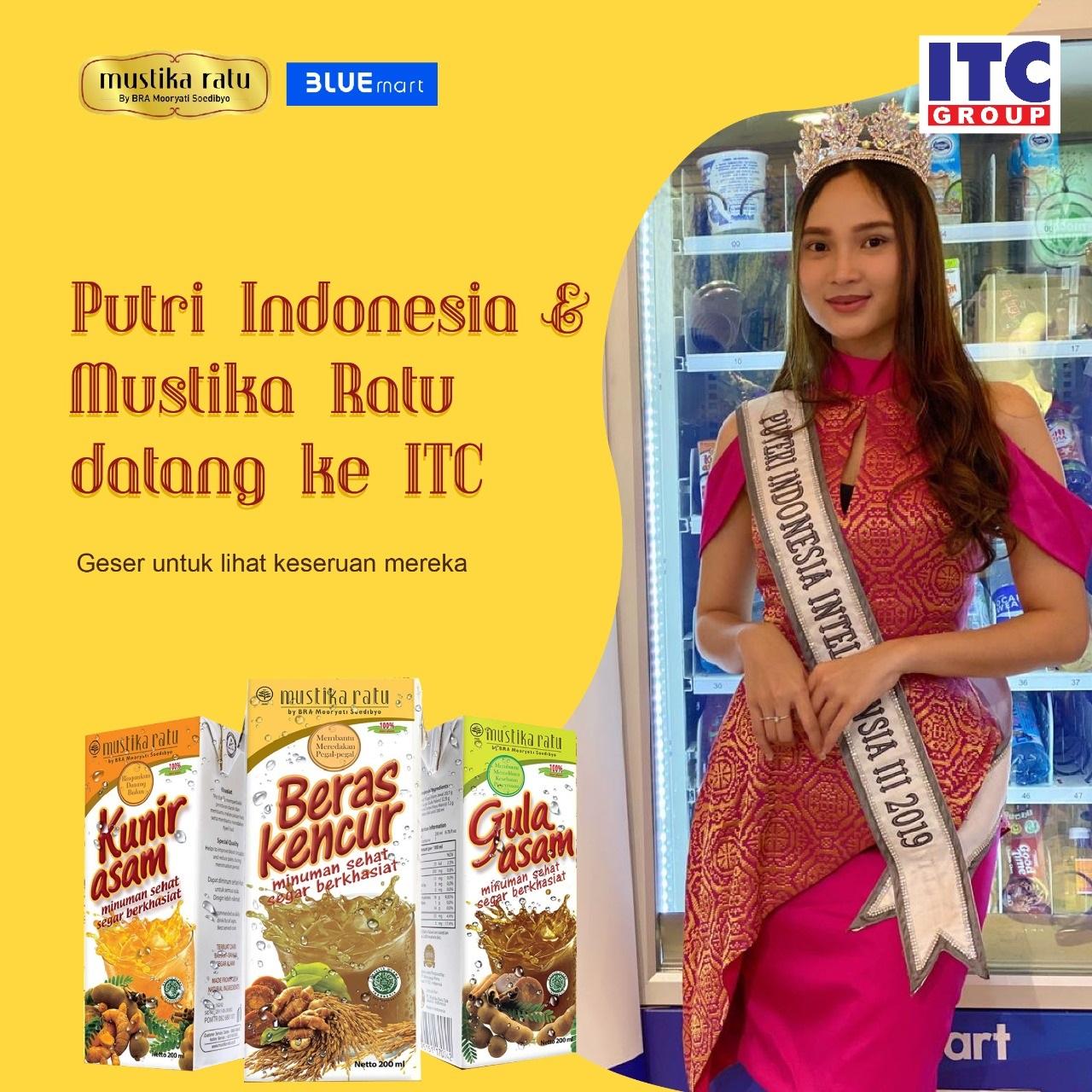 Kunjungan Puteri Indonesia di ITC Group